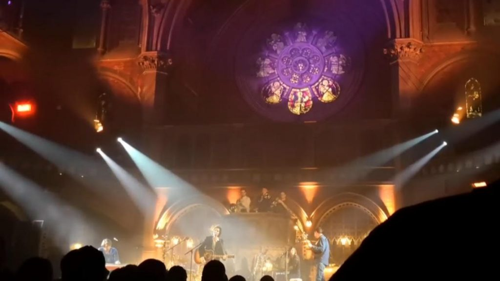 The Barr Brothers Gig Review. Gig photo taken at The Union Chapel London