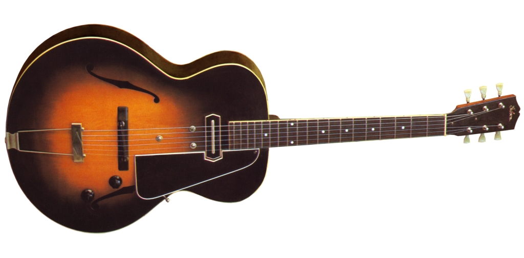 The Gibson ES-150 featuring the Charlie Christian pickup
