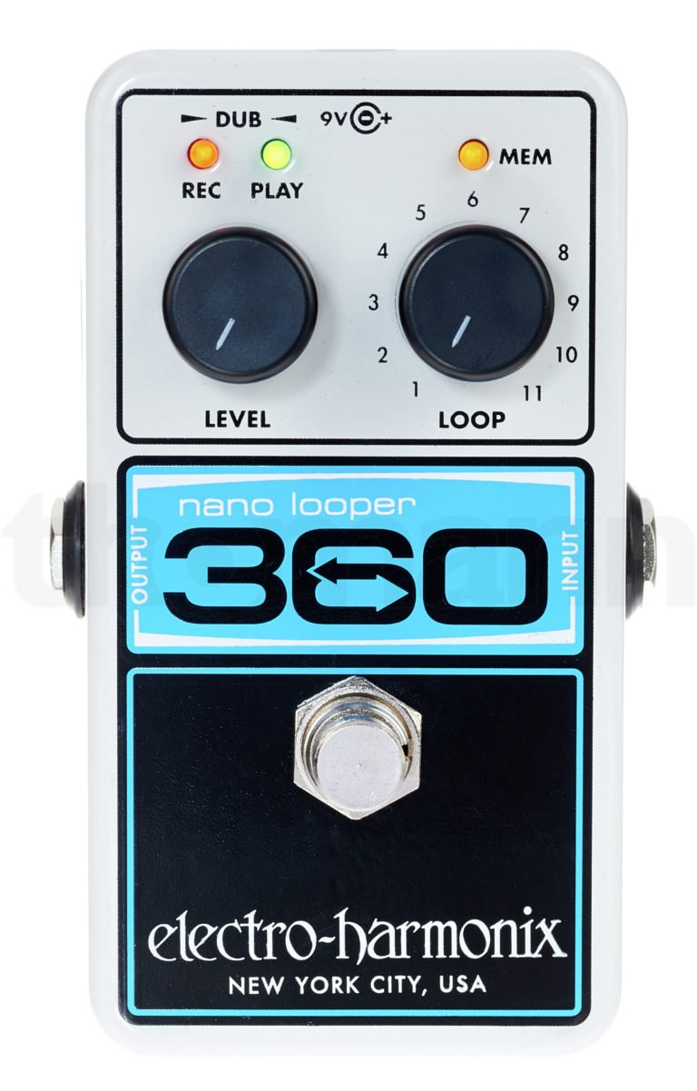 The EHX nano 360 looper
