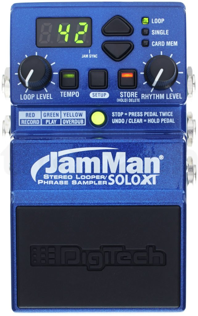 The Jamman soloXT loop pedal