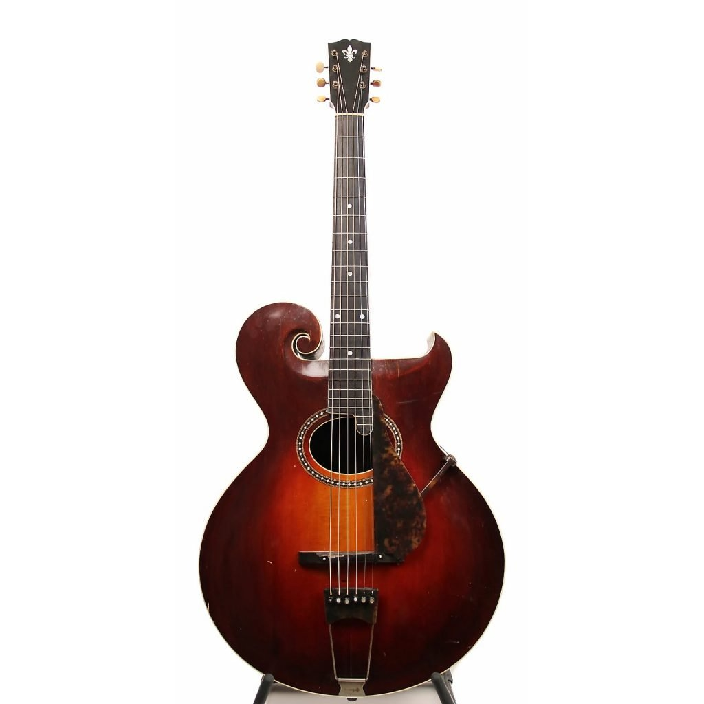 The Gibson style O acoustic guitar